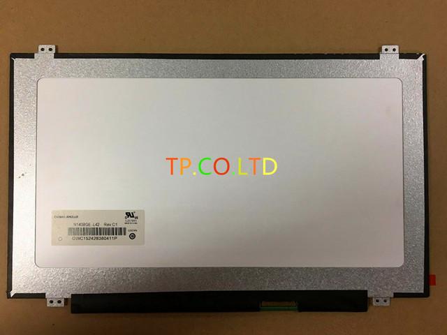 """Nueva Original Del Ordenador Portátil LCD LED de 14.0 """"Pantalla Delgada Brillante N140BGE-L42/L43/LB2 LP140WH2-TL LTN140AT28/20 B140XW03 B140XTN02.3 HB140WX1"""