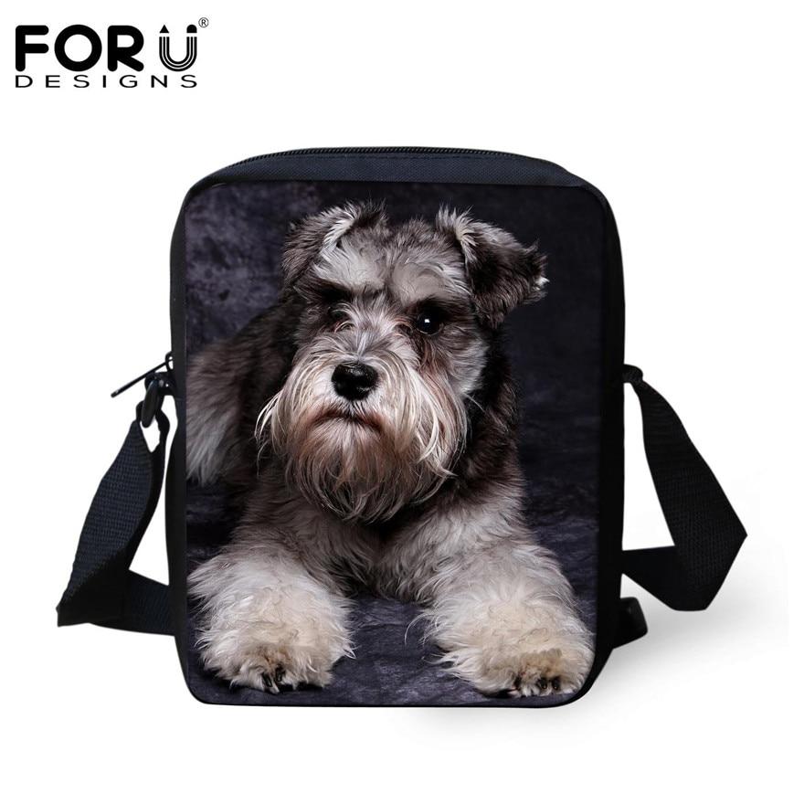 FORUDESIGNS/женская маленькая сумка через плечо с объемным рисунком собаки чихуахуа, модные женские сумки-мессенджеры, сумки через плечо - Цвет: H204E