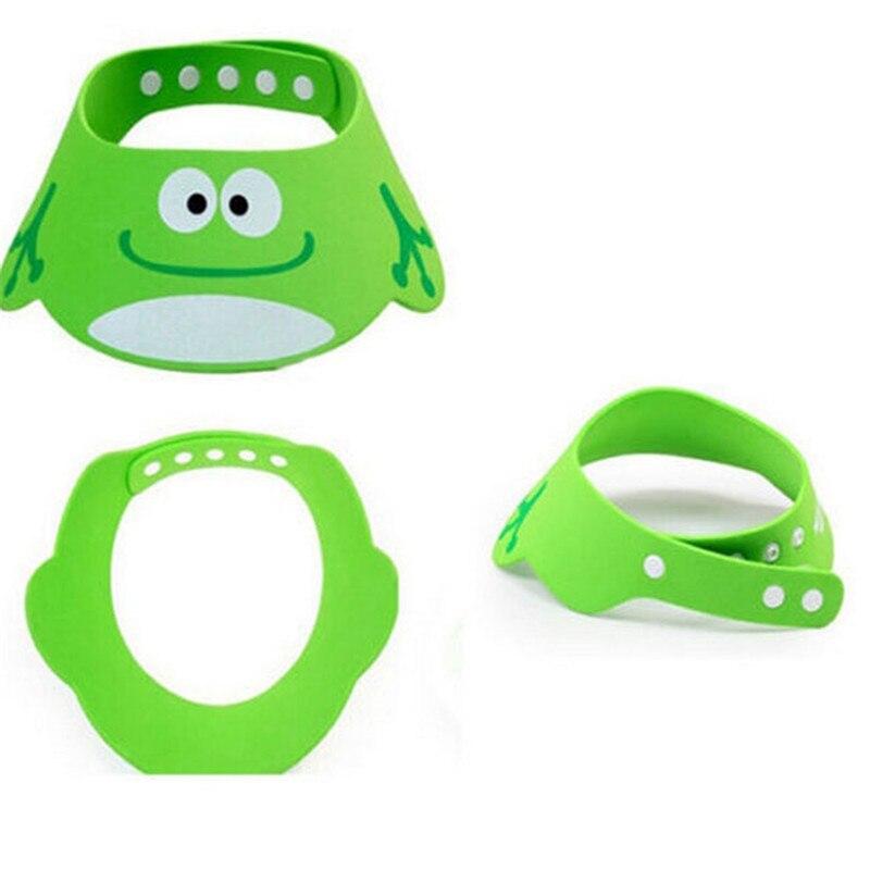 Baby Shower Adjustable Hat Toddler Kids Cartoon Shampoo Bathing Shower Cap Wash Hair Shield Direct Visor Caps For Baby Care