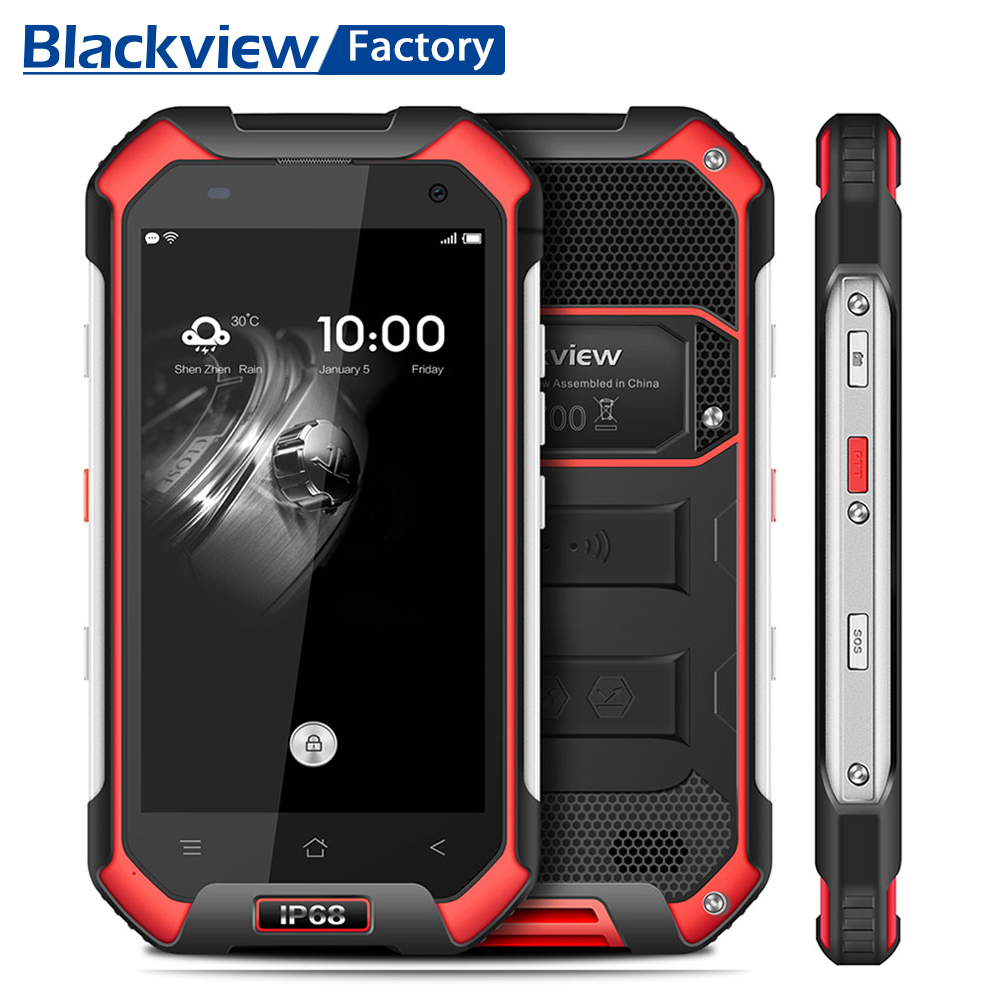 Blackview BV6000 IP68 Waterproof Smartphone GPS Octa Core Android 7 0 Cellphone 4 7 HD Screen