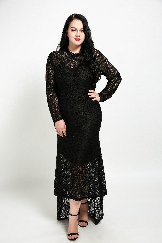 258c91792c8 Lace Dress Long Sleeve Plus Size