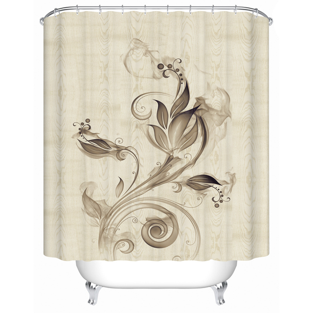 2016 New Waterproof Shower Curtain High Quality Bathroom Products Accessories Acceptable Personalized Custom Pattern MG-079