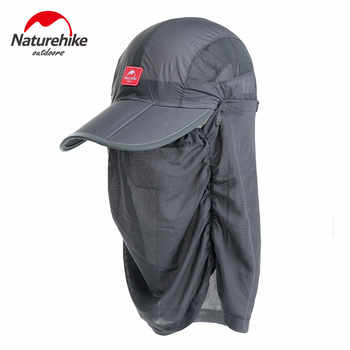 d54844ab Promotion Naturehike Outdoor Hiking Hat with Veil Breathable Summer  Ultraviolet-proof Fishing Hat Anti-mosquito Neck Cover