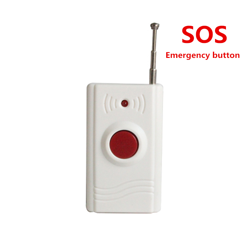 SOS Button wireless emergency button for home security alarm system elders emergency button yobangsecurity emergency call system gsm sos button for elderly