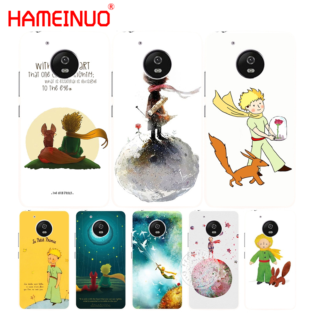 HAMEINUO rose the little prince with fox case cover for Motorola moto G6 G5 G5S G4 PLAY PLUS ZUK Z2