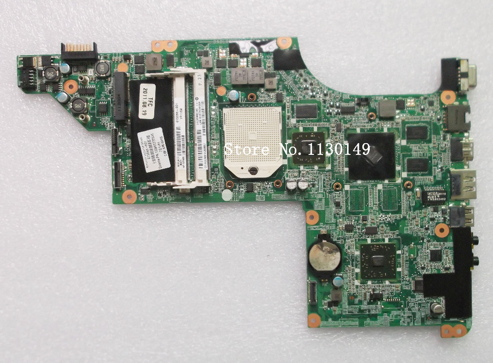 615686-001 Free Shipping laptop motherboard for HP DV7-4000 motherboard DDR3 RAM full Tested