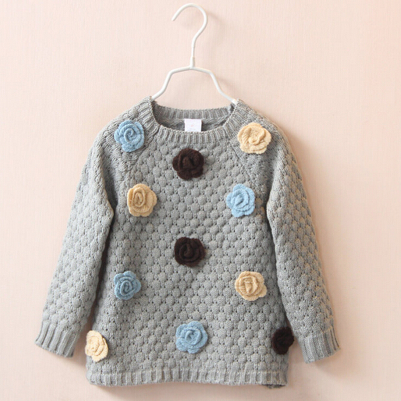 Online Shop Fashion Girl Sweater Coat Child Sweaters Long-Sleeve ...