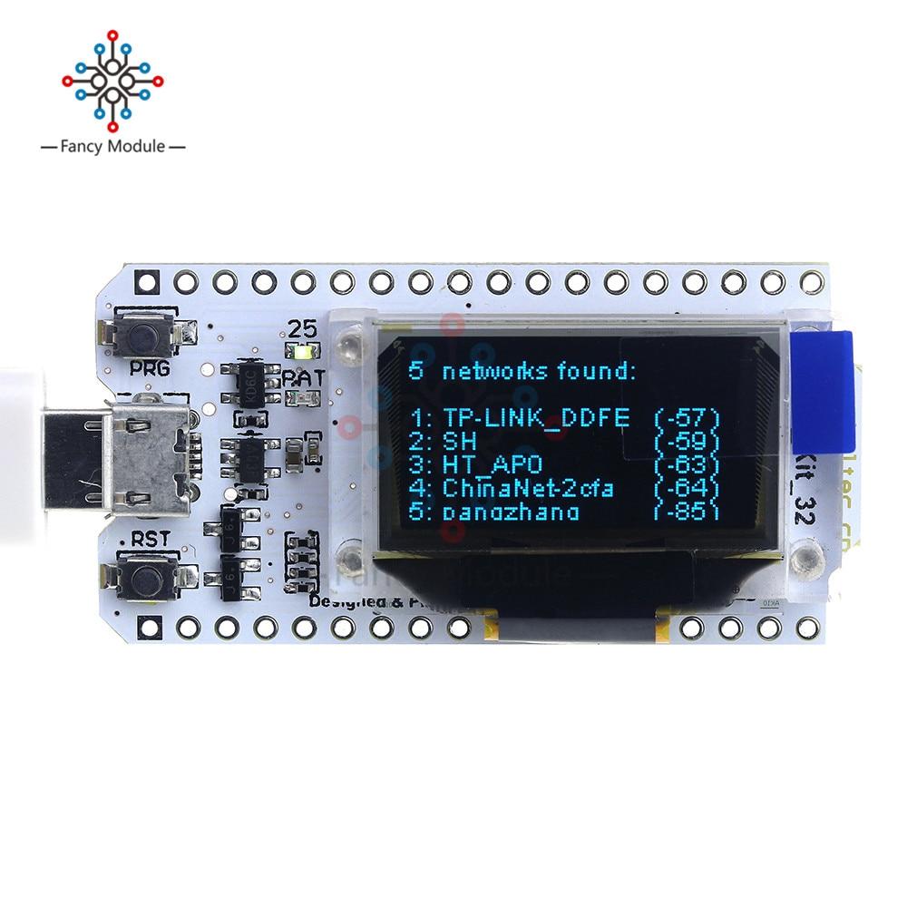 ESP32 WIFI Bluetooth Development Board 0.96 Inch OLED Blue Display For Arduino