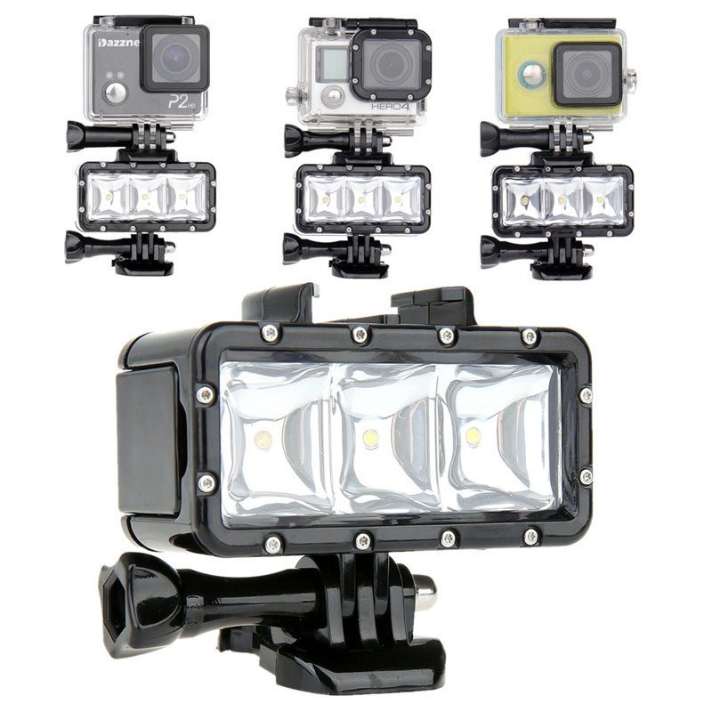 Lightdow Gopro Waterproof Underwater Diving LED Video Light for Gopro Hero 1 2 3 3 4