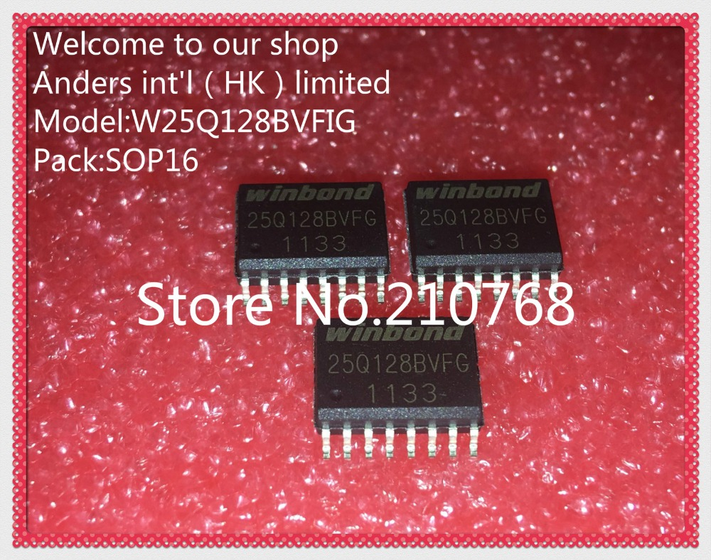 US $11 4 5% OFF|10pcs/lot W25Q128BVFG 25Q128BVFG W25Q128 25Q128 SOP16-in  Integrated Circuits from Electronic Components & Supplies on Aliexpress com  |