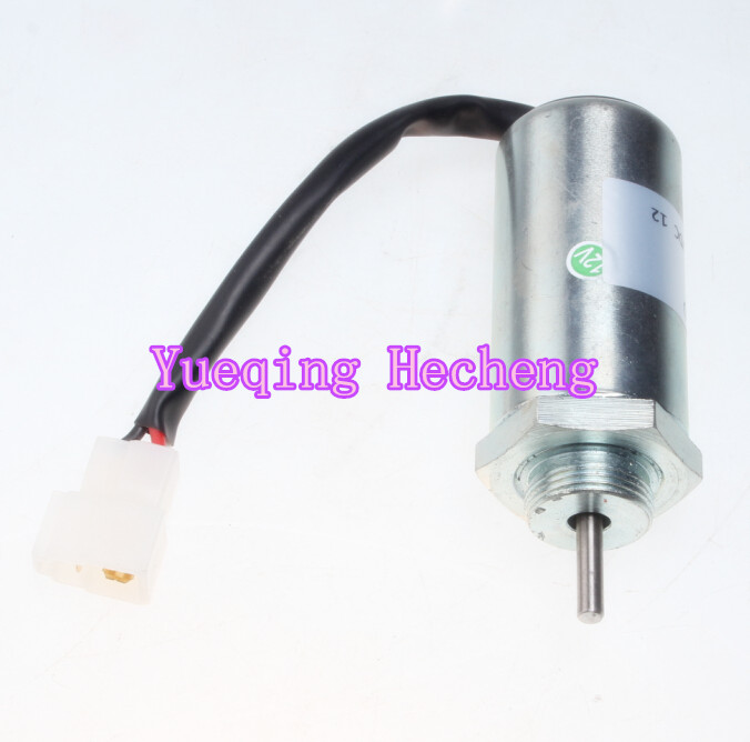 Free shipping Fuel Shutoff Solenoid Valve 8973295680 for 3LD1 3LD2 4LE1 3LB1 4LB1 Engine 1700 4061 fuel shutoff solenoid 1753es 12v for tl140 free shipping