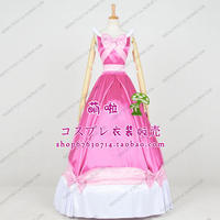 Cinderella 2 Costume Princess Cosplay Costume pink dress for women/kids