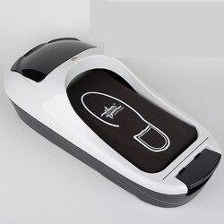 W pełni automatyczne ochraniacze na buty autentyczne biuro domowe jednorazowe ochraniacze na obuwie maszyna do formowania stóp maszyna do formowania w Półki i organizatory na buty od Dom i ogród na