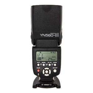 Image 3 - YONGNUO YN560 III YN 560 III YN560III Drahtlose Blitz Speedlite blitzgerät Für Canon Nikon D3200 D3100 D5300 D7200 DSLR Kamera