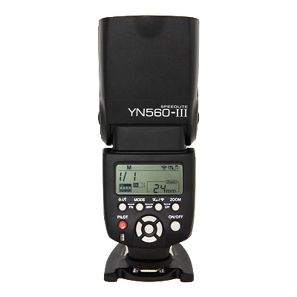 YONGNUO YN560 III YN-560 III YN560III Sans Fil Flash Speedlite Flash Pour Canon Nikon D3200 D3100 D5300 D7200 DSLR Caméra - 3
