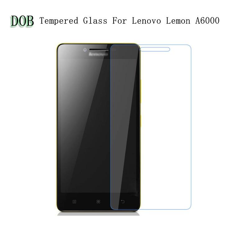 2,5D 9H edzett üveg a Lenovo A6000 / A6000 Plus A6010 Plus Pro - Mobiltelefon alkatrész és tartozékok