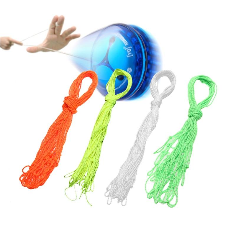40pcs Polyester Light Professional Kids YoYo Ball Toys Trick String YoYo Strings Kids Toys Children Gifts