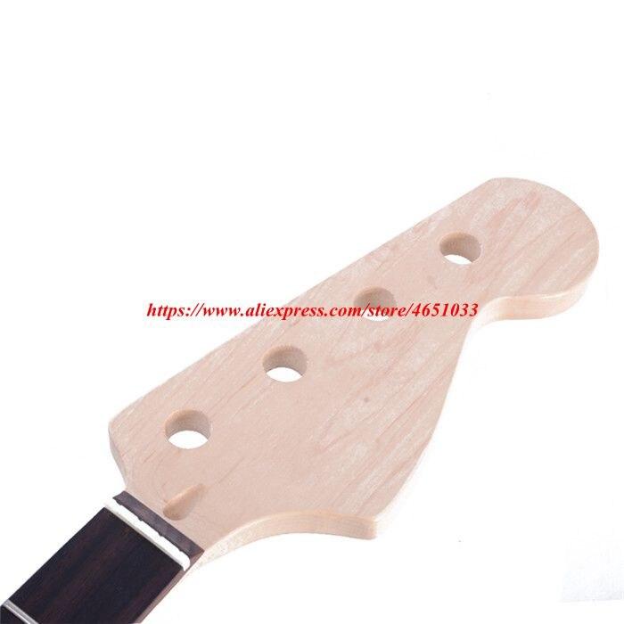 Accessoires de guitare pièces guitare électrique cou JB basse électrique érable xylophone cou palissandre touche, 21 Fret - 4