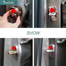 stainless steel door lock cover 4pcs/set case for 2009 2012 2013 2014 Peugeot 3008 2008 308 408 508 301 accessories