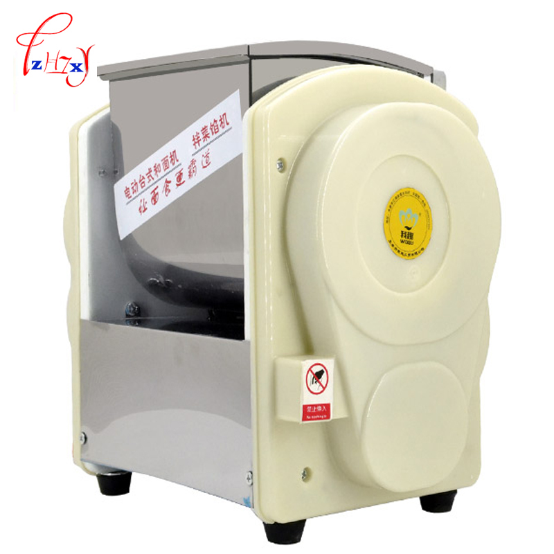220V Home use Commercial Automatic Dough Mixer 2KG Flour Mixer Stirring Mixer The pasta machine Dough kneading 1pc commercial stainless steel dough divider automatic cutting machine bread machine dough separator yf 36 220v 380v 750w 1pc