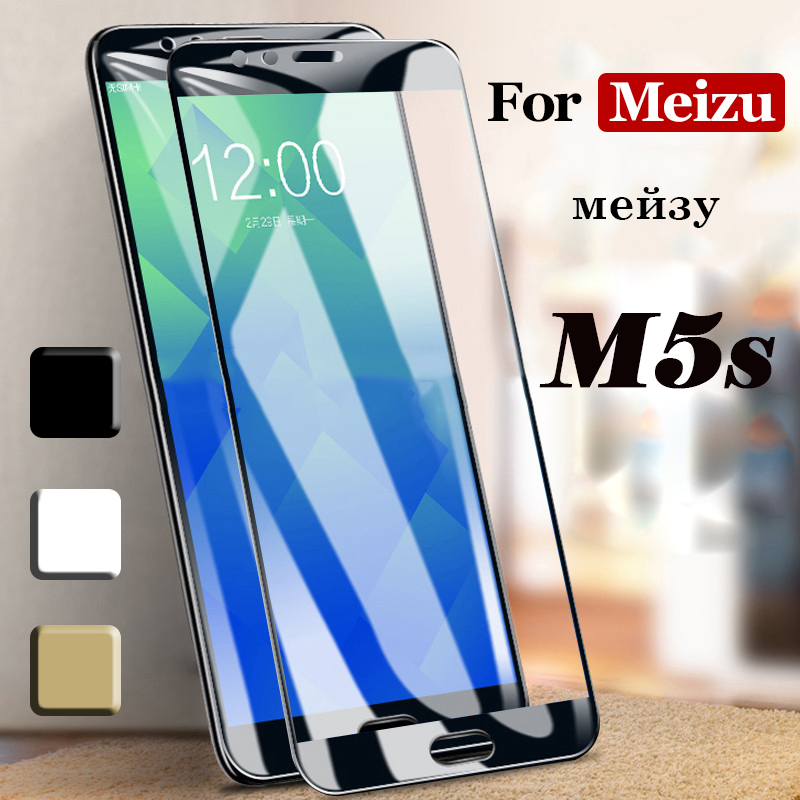 For Meizu M5s Protective Glass On Maisie M5s Screen Protector Tempered Glass On The For Meizu M5s Protection Film Meize Meizy 3D