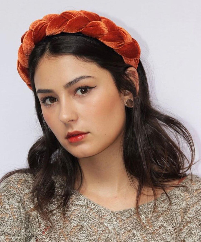 2019 New Velvet Hairband For Women Ladies Headband Solid Color Braid Hair Loop Retro   Headwear   Female Hair Accessories