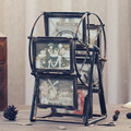 Retro Ferris wheel photo frame table creative windmill photo frame set decorative can rotate 360 degree