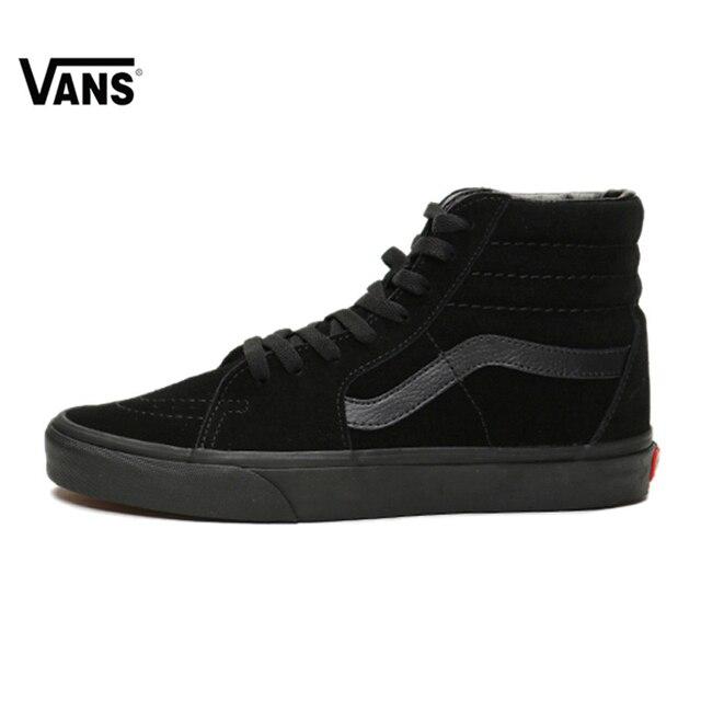 b6c801a6cb Original Vans Sk8-Hi-Boys Classic Unisex MEN S   WOMEN S Skateboarding Shoes  Sports canvas Shoes Sneakers