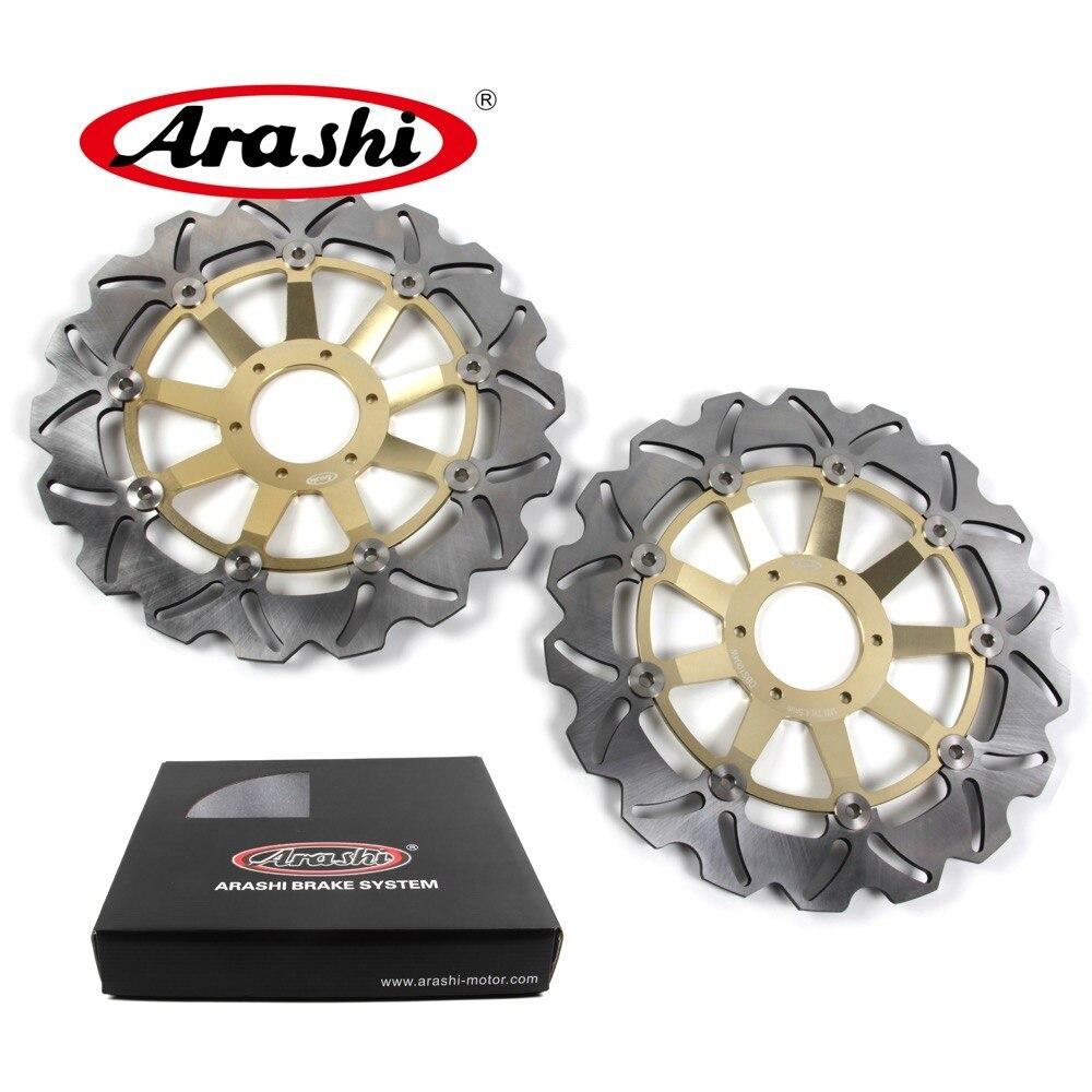 Arashi 2PCS For HONDA VFR 800 1998 -2001 Front Brake Disc Brake Rotors VFR800 1998 1999 2000 2001 CBR F600 VTEC800 GL GOLD WING