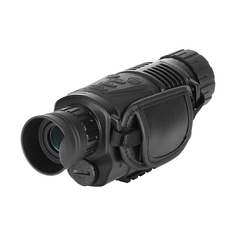 5X40 Monocular visión nocturna infrarroja cámara de visión nocturna militar Digital Monocular telescopio noche caza dispositivo de navegación - 5