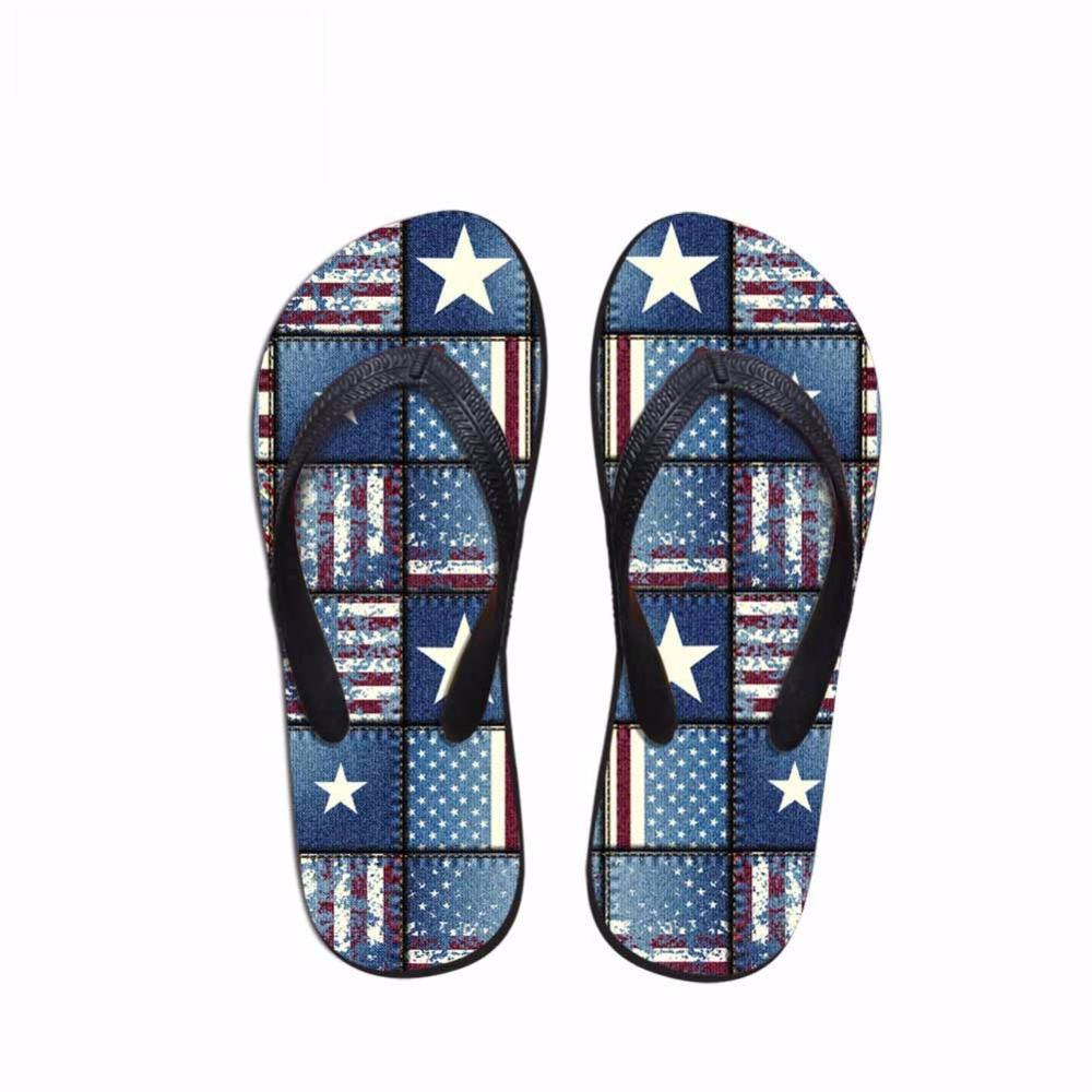 Noisydesigns flags printed male  Comfortable Anti-slip Bathroom Solid - Men's Shoes - Photo 4