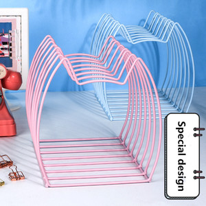 Image 2 - Sharkbang Creative Kawaii Cat metalowa do książek magazyn Bookends książki stojak uchwyt półka organizator biurkowy półka