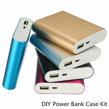 Power Bank Case 4×18650 Battery Holder For Mobile Phone Charger Box DIY Kit 18650 USB Charging Storage Shell For Xiaomi цена и фото