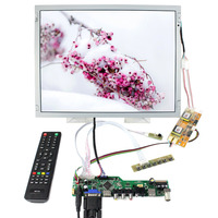 ТВ HDMI VGA CVBS USB аудио ЖК дисплей плате контроллера VST56 с 15 LQ150X1LW73 1024X768 ips ЖК дисплей Экран