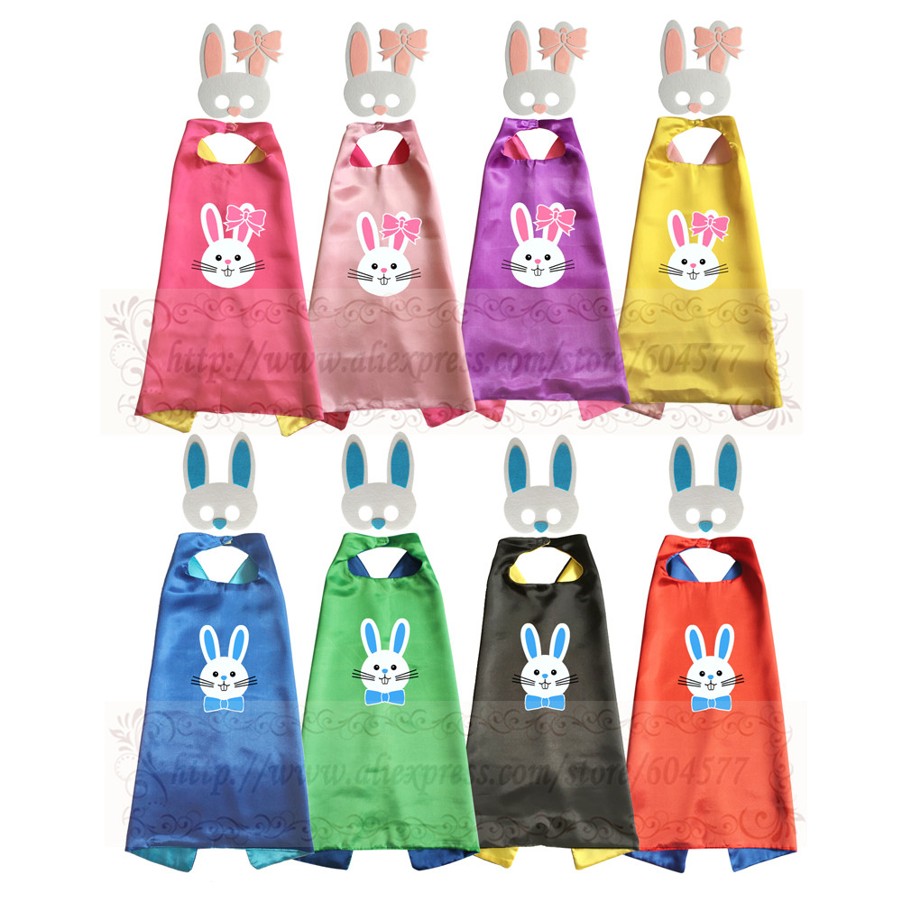 Bunny Costume - toddler costume capes and masks cute boys and girls halloween costumes