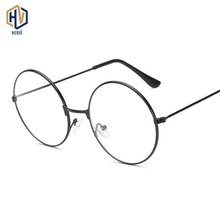 Retro Round Optics Glasses Frame Fashion Boy Girl Metal Spectacles Frames Brand Design Child Prescription Eyeglasses