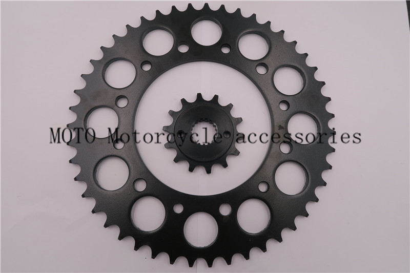 ФОТО Chain 520 Motorcycle Front & Rear Sprocket For Honda CRM250 M,M2,N,P,R,S 1991-995 CRM250 AR (MD32) 97-99 Motorcycle Sprocket