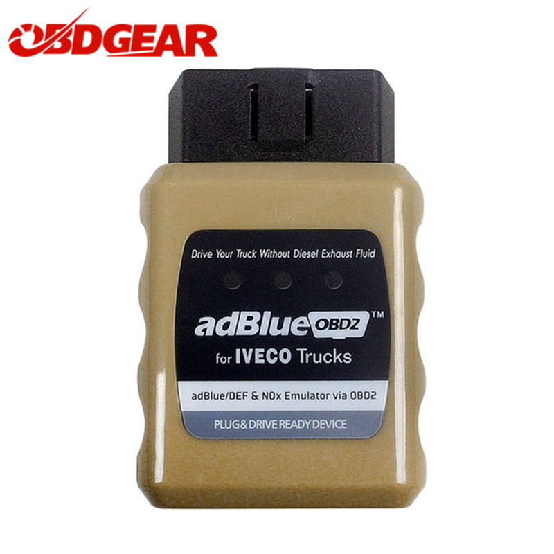 2018 New Arrival AdBlue OBD2 For IVECO Trucks NOx Adblue Trucks Emulator OBD2 Scanner for Euro4 Euro5 Trucks Emulator 2017 newest truck adblue emulator 8 in 1 super quality for mercedes man iveco daf volvo renault and f ord adblue emulator 8 in 1