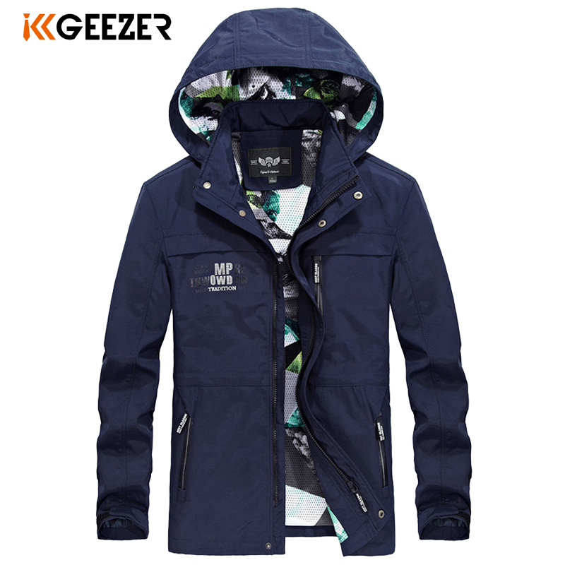Mens Jackets Spring Autumn Waterproof Coat Bomber Male Jacket Windbreaker Military Casual Hooded Camouflage Brand High Quality