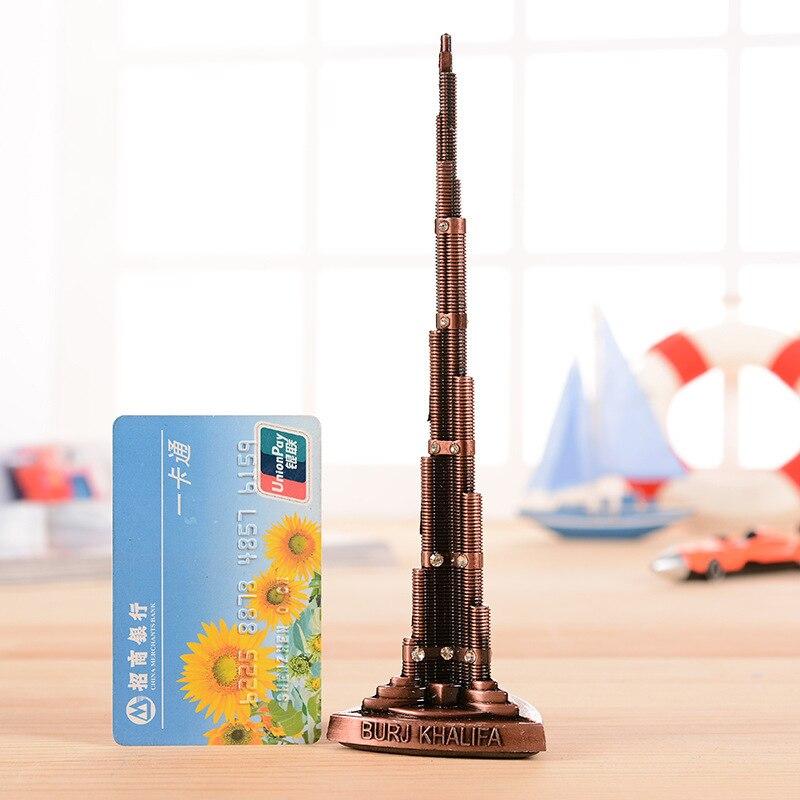 Παγκόσμιο Burj Khalifa Πύργος Μοντέλο με Word - Διακόσμηση σπιτιού - Φωτογραφία 4
