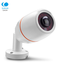 5MP Fisheye IP Video Camera Outdoor Waterproof Bullet Night Vision Infrared Xmeye APP 1.7mm Lens 180 Degree POE ONVIF