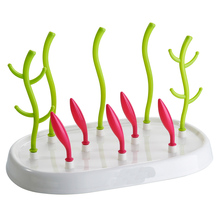 Baby Bottle Drying Rack Cleaning Dryer Drainer Storage Tree Shape For Cup Holder
