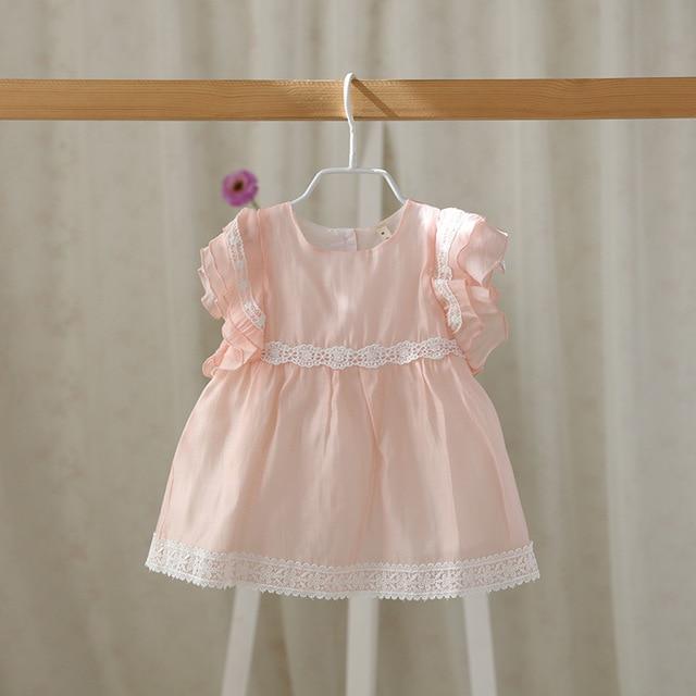 Idea Baby girls Summer Dress Babies Infant Children Fly Sleeve Princess Dresses