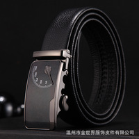 2018 Automatic Buckle Strap Cinto Masculino Top Quality Cow Genuine Fashion Leather Men Belts For Men