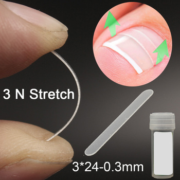 10pcs Ingrown Toenail Correction Tool Ingrown Toe Nail Treatment Elastic Patch Sticker Straightening Clip Brace Pedicure Tool