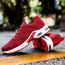 Men/Women Running Shoes New Fly Knit Air Breathable Outdoor Sports Tennis Jogging Althletic Trainers Sneakers