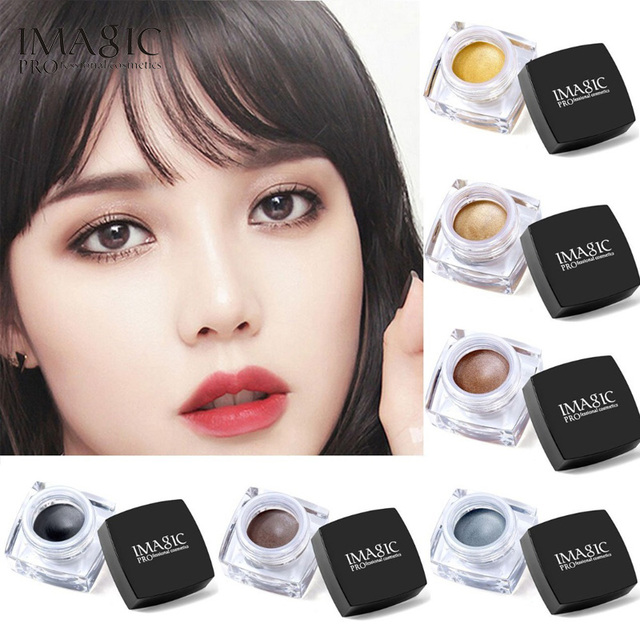 6 Colors Waterproof Long Lasting Glitter Eyeshadow Cream, Mulfunctional Make up Set #2