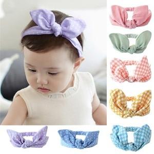 Girls Bow Knot Headbands Cotton Hair Accessories for Girls Newborn Flower Hair band Kids Head Wrap Headwear