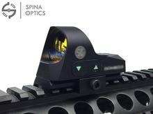SPINA OPTICS Mini 1x25 Тактичні окуляри для гвинтівки Reflex Sight 3 Зйомки з вогнепальною зброєю з червоною точкою