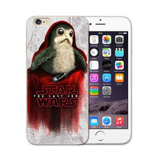 Star Wars The Last Jedi Porgs Soft TPU Phone Case Cover For iPhone 5S SE 6 6S 7 Plus 8 8Plus X